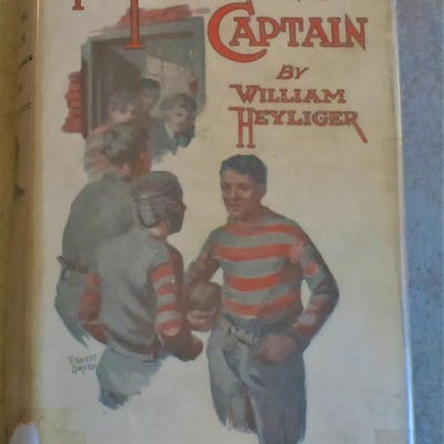 The Fighting Captain Heyliger, William Baseball,Childrens, Juvenile,Fiction