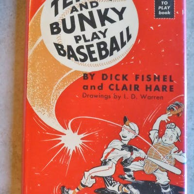 Terry and Bunky Play Baseball Fishel
