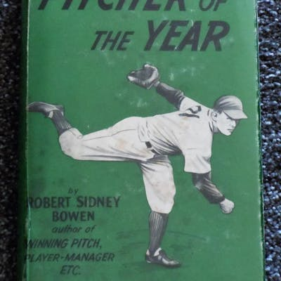 Pitcher of the Year Bowen, Robert Sidney Baseball,Childrens, Juvenile,Fiction