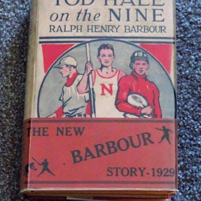 Tod Hale on the Nine Barbour, Ralph Henry Baseball,Childrens, Juvenile,Fiction