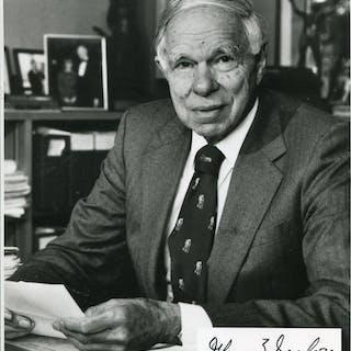 Seaborg, Glenn Theodore - Autograph Glenn Theodore Seaborg (American scientist