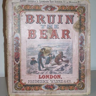 Bruin The Bear (Aunt Louisa's London Toy Books)