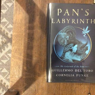Pan's Labyrinth SIGNED & NUMBERED UK HB 1/1 Funke, Cornelia; Guillermo Del Toro