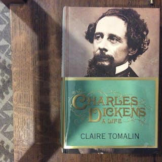 Charles Dickens: A Life *****SIGNED UK HB 1/1**** Tomalin, Claire