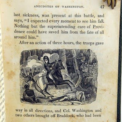 Entertaining Anecdotes of Washington; Exhibiting his Patriotism and Courage