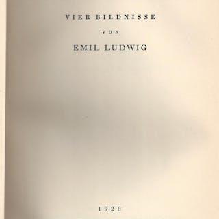 Kunst und Schicksal - Vier Bildnisse Ludwig, Emil Art