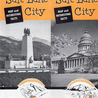 SALT LAKE CITY AND INTERESTING FACTS. (COVER TITLE) SALT LAKE CITY CORPORATION