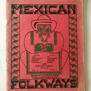 Mexican Folkways magazine. Vol 3. No. 1, Feb-Mar 1927 [Rivera, Diego]