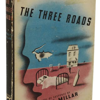 The Three Roads [Macdonald, Ross]; Millar, Kenneth Mystery & Crime Fiction