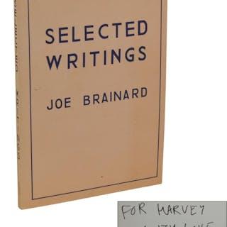 Selected Writings Brainard, Joe Essays,Gay & Lesbian,Literature,Poetry,Signed