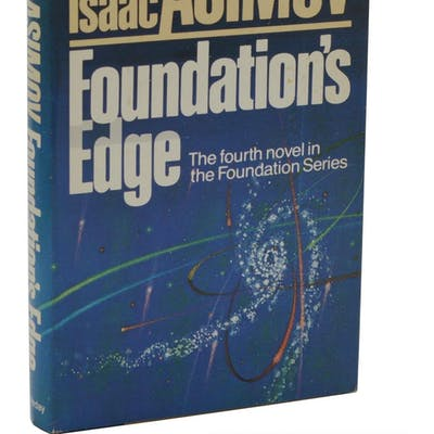 Foundation's Edge Asimov, Isaac Science Fiction,Signed