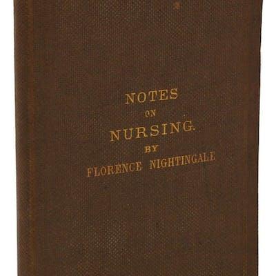 Notes on Nursing Nightingale, Florence Medicine,Women Writers