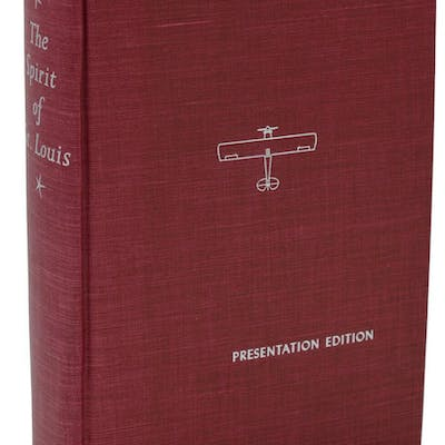 The Spirit of St. Louis Lindbergh, Charles Signed,Travel & Adventure