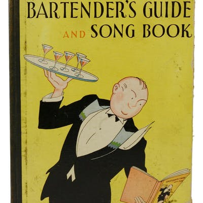 The Home Bartender's Guide and Song Book Roe