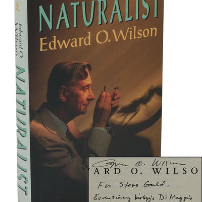 Naturalist Wilson, Edward O.; [Gould, Stephen Jay] Nature,Science,Signed