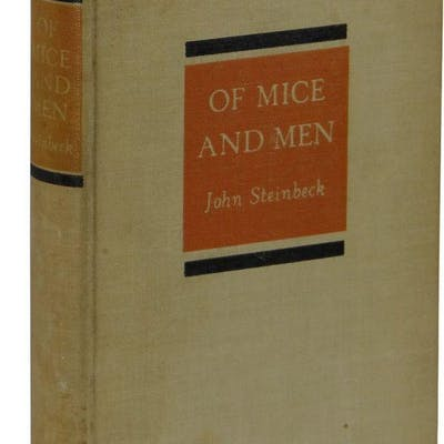 Of Mice and Men Steinbeck, John Literature