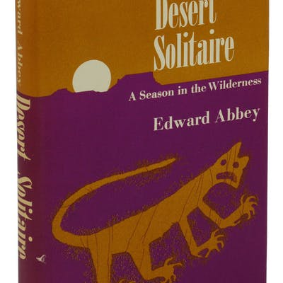 Desert Solitaire: A Season in the Wilderness Abbey, Edward Biography,Nature