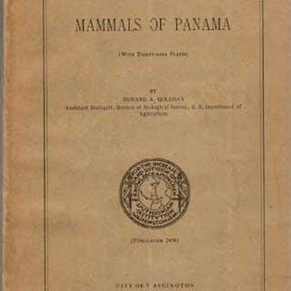 Mammals of Panama Goldman, Edward A.