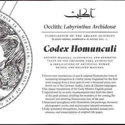 CODEX HOMUNCULI; Occlith: Labyrinthus Archidoxae