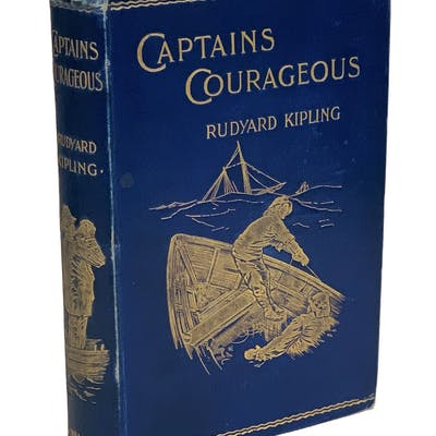 Captains Courageous: A Story of the Grand Banks Kipling