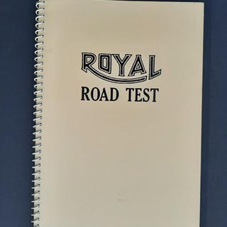 Royal Road Test edward ruscha Books by Artists
