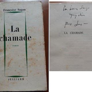 La CHAMADE 1965 DEDICACE Envoi AUTOGRAPHE Signed Francoise SAGAN