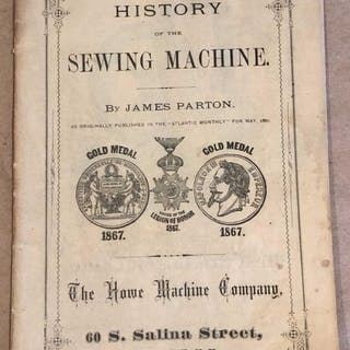 History of the Sewing Machine Parton, James Textiles