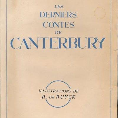 Les derniers contes de Canterburry RAY Jean