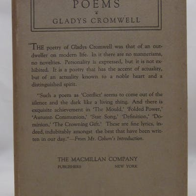 Poems Gladys Cromwell