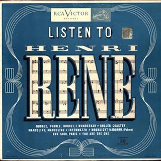 Listen to Henri Rene (VINYL POP ORCHESTRAL LP) Henri Rene