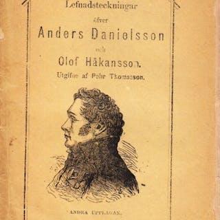 Lefnadsteckningar öfver Anders Danielsson och Olof Håkansson
