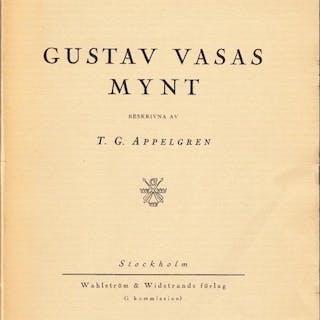 Gustav Vasas mynt. APPELGREN, T. G.