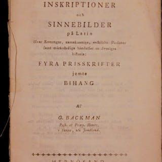 Inskriptioner och sinnebilder på latin öfver konungar