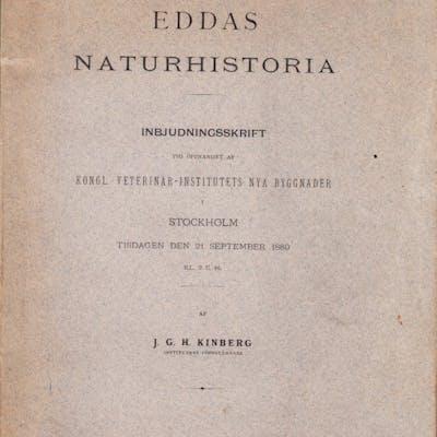 Eddas naturhistoria