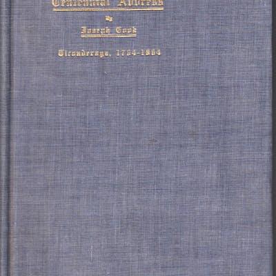 An Historical Address by Joseph Cook