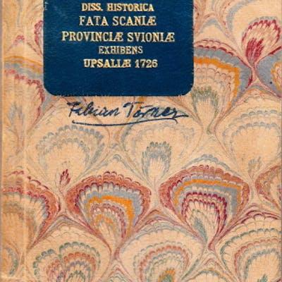 Dissertatio historica fata Scaniae provinciae Svioniae