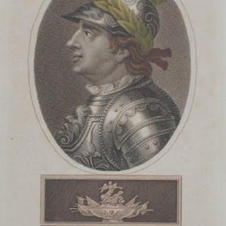Original 1795 Portrait KING HENRY THE FIFTH Chapman...