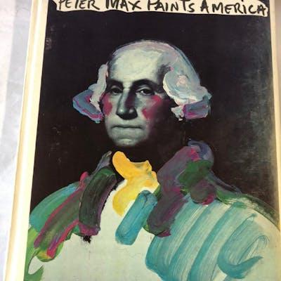 Peter Max Paints America Max, Peter, Victor Zurbel Editor