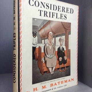 Considered Trifles A Book of Drawings Bateman, H.M.