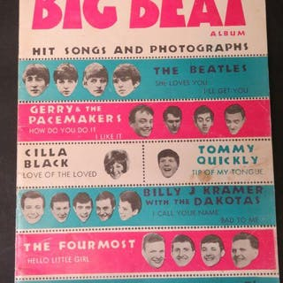 Big Beat Album: Hit Songs and Photographs: The Beatles: She Loves You