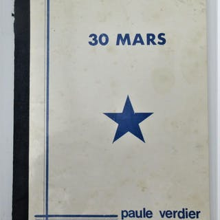 30 Mars Paule Verdier Author signed books,Littérature...