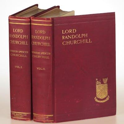Lord Randolph Churchill Winston S. Churchill First Editions