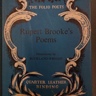 Poems Of Rupert Brooke Brooke, Rupert