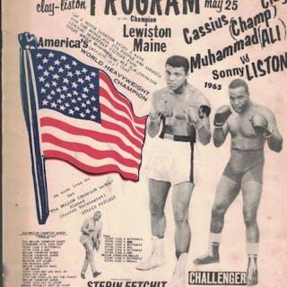 [BOXING] 1965 Muhammad Ali/Cassius Clay vs