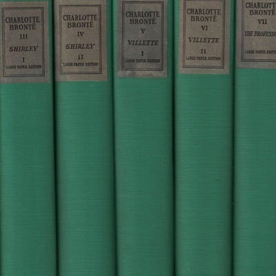 The Shakespeare Head Bronte (11 volume set) BRONTE
