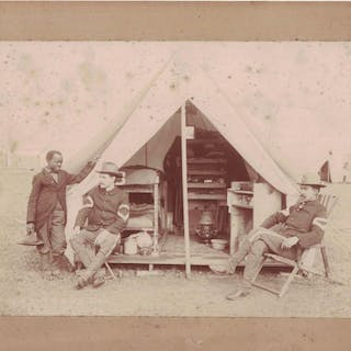 [PHOTOGRAPHY] [MILITARY] [AFRICAN-AMERICANA] Photograph...