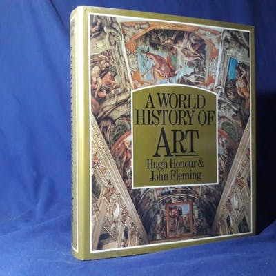 A World History of Art(Hardback,w/dust jacket,1983) Hugh Honour and John Fleming