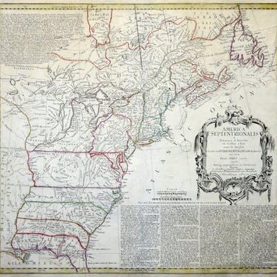 Kupferstich- Karte