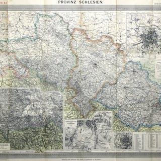 Lithografie- Karte