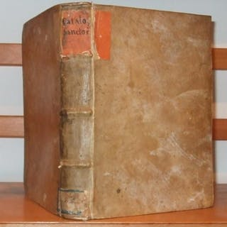 Sanctorum Catalogus: Vitas